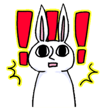 Crankybox rabbit sticker #618455