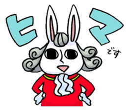 Crankybox rabbit sticker #618465
