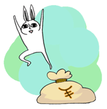 Crankybox rabbit sticker #618468