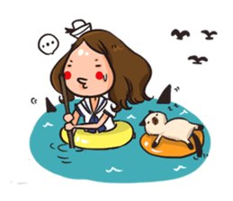 Sunny & The Gang sticker #618491