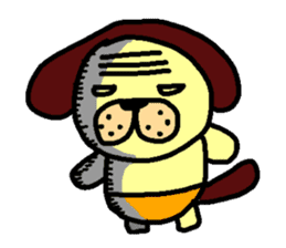 inu-zaru sticker #618526