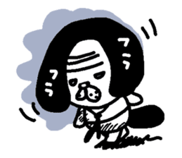 inu-zaru sticker #618529