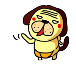 inu-zaru sticker #618539
