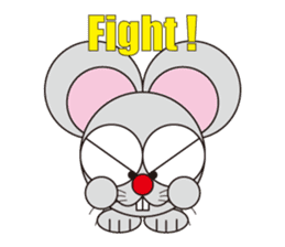 circle face 16 mouse part 1 sticker #619337