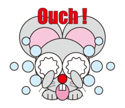circle face 16 mouse part 1 sticker #619344