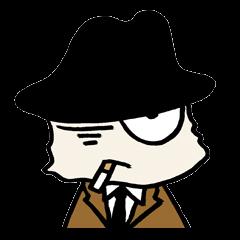 White cat hard-boiled detective 2