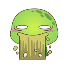 Pura, the cool and funny turtle sticker #619775
