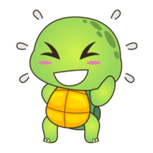 Pura, the cool and funny turtle sticker #619795