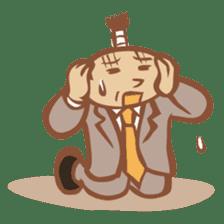 "Chonmage Kacho ""CK"" sticker #619847"