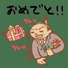 "Chonmage Kacho ""CK"" sticker #619866"