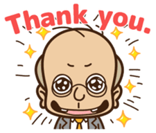Sales Manager Tamoji(English Ver.) sticker #620524