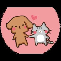Kawaii Dogs and Kawaii Cats