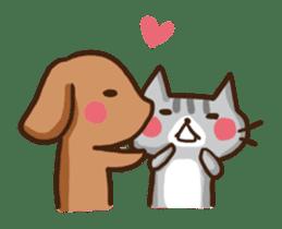 Kawaii Dogs and Kawaii Cats sticker #621403