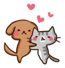 Kawaii Dogs and Kawaii Cats sticker #621407