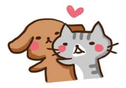 Kawaii Dogs and Kawaii Cats sticker #621408