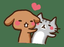 Kawaii Dogs and Kawaii Cats sticker #621409