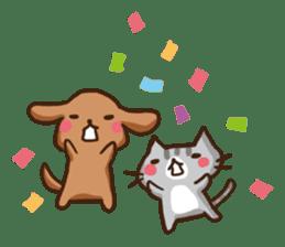 Kawaii Dogs and Kawaii Cats sticker #621416