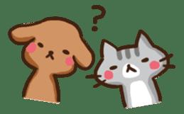 Kawaii Dogs and Kawaii Cats sticker #621417