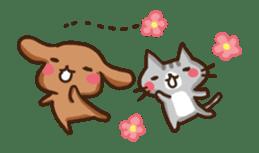 Kawaii Dogs and Kawaii Cats sticker #621435