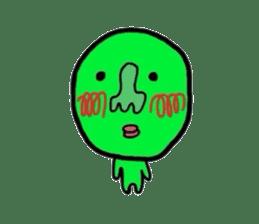 Taro Green sticker #621722