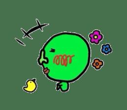 Taro Green sticker #621724