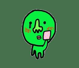 Taro Green sticker #621730