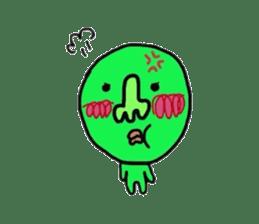 Taro Green sticker #621731