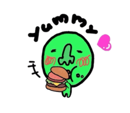 Taro Green sticker #621741