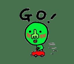 Taro Green sticker #621746