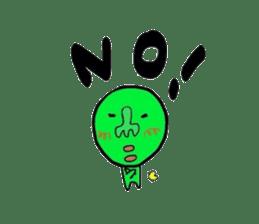 Taro Green sticker #621747