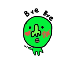 Taro Green sticker #621748
