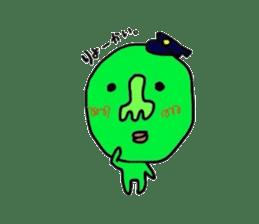 Taro Green sticker #621749
