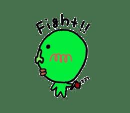 Taro Green sticker #621750