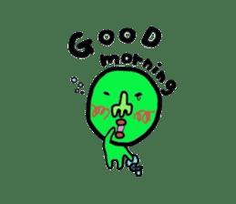 Taro Green sticker #621751