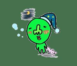 Taro Green sticker #621752