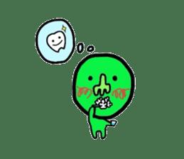 Taro Green sticker #621753