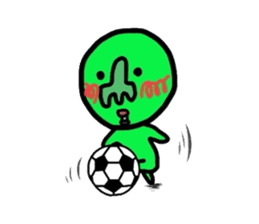 Taro Green sticker #621756