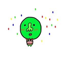 Taro Green sticker #621757