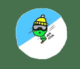Taro Green sticker #621759