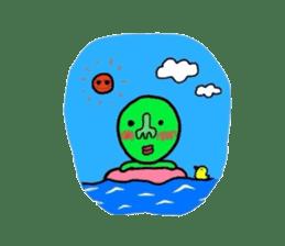 Taro Green sticker #621760