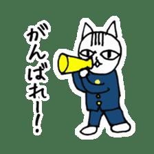 Cheerleaders cat sticker #621772