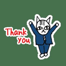 Cheerleaders cat sticker #621781