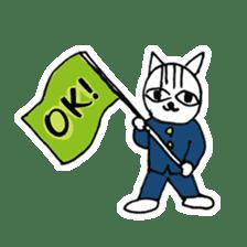 Cheerleaders cat sticker #621785