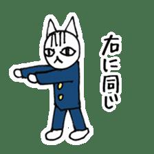 Cheerleaders cat sticker #621792