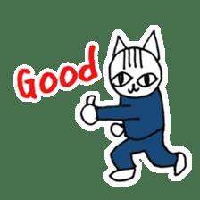 Cheerleaders cat sticker #621801