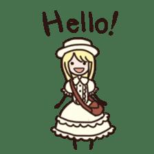 Lolita Fashion sticker #622007