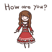 Lolita Fashion sticker #622009