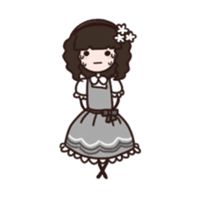 Lolita Fashion sticker #622017