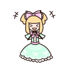 Lolita Fashion sticker #622018