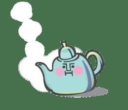 The Tea Space sticker #622285